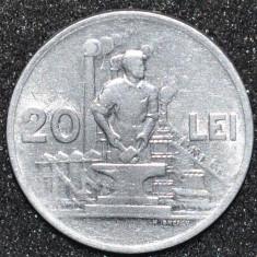 1889 ROMANIA 20 LEI 1951 RPR. FOARTE FRUMOASA ! - Moneda Romania