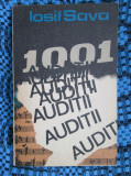Iosif SAVA - 1001 AUDITII (prima editie, 1987 - AUTOGRAF pt. IOSIF CONTA)