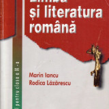 LIMBA ROMANA - MANUAL PT CLASA A IX A de MARIN IANCU ED. CORINT - Manual scolar, Clasa 9