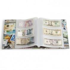 Vario Album avec 100 foi transparent pentru 300 banknote - album clasor