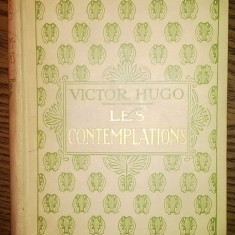 Carte - Victor Hugo - Les Contemplations [1932]