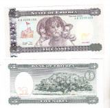 Bnk bn Eritrea 5 nafka 1997  unc