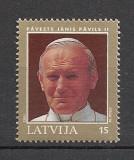Letonia.1993 Vizita Papei Ioan Paul II  SL.102