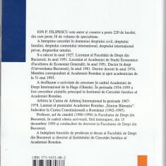 Ion P. Filipescu - TRATAT DE DREPTUL FAMILIEI, editia a V-a, Ed. All Beck, 2000, Colectia Juridica, 579 pag. - Carte Dreptul familiei