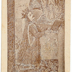 555 - Bucovina, Monastery PUTNA, Stefan cel MARE - old postcard - unused - Carte Postala Bucovina 1904-1918, Necirculata, Printata