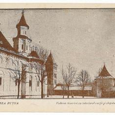 553 - Bucovina, Suceava, Monastery PUTNA - old postcard - unused - Carte Postala Bucovina 1904-1918, Necirculata, Printata