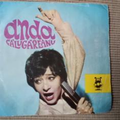 Anda calugareanu vinyl disc single Muzica Pop electrecord beng sapte mii de melodii edc 957, VINIL