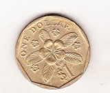 bnk mnd Singapore 1 dollar 1997