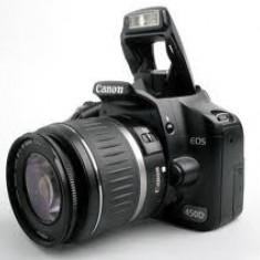 Vand camera foto Canon 450 D - DSLR Canon, Kit (cu obiectiv), 12 Mpx, Full HD
