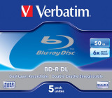 Verbatim Blu-ray Disc 50 GB Set - 5 bucati