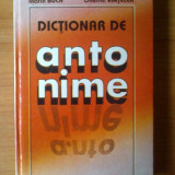 T Marin Buca Onufrie Vinteler - Dictionar de antonime