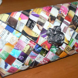 Plic hand made modele deosebite la super pret - Geanta Dama, Geanta plic, Multicolor