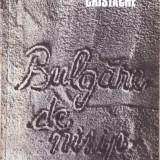 BULGARE DE NISIP de NICOLAE CRISTACHE - Roman, Anul publicarii: 1986