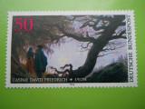 GERMANIA  200 ANI DE LA NASTEREA PICTORULUI CASPAR DAVID FRIEDRICH 1974      -1 VAL  MNH  379 F