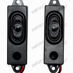 Set 2 boxe miniatura, bass-reflex, 2x8 ohmi, 1W - 152858 - Difuzor, Difuzoare bass, 0-40 W