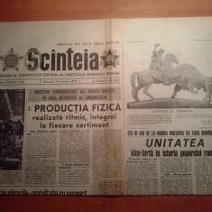 Scanteia 14 ianuarie 1979-120 de ani de la unirea moldovei cu tara romaneasca