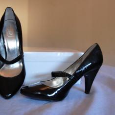 Pantofi Zara - Pantof dama Zara, Culoare: Negru, Marime: 37, Negru