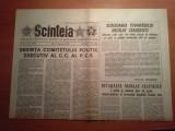 ziarul scanteia 9 februarie 1982 -sedinta comitetului politic executiv al  PCR