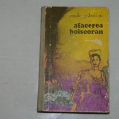 Afacerea boiscoran - Emile Gaboriau - Editura Dacia - 1975 - Roman