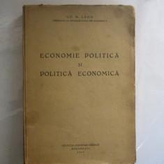 V. Badulescu Curs de economie politica Moneda Schimb Preturi Bucuresti 1931 - Carte Economie Politica