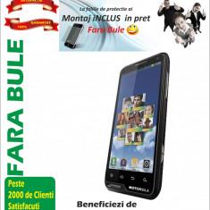 Folie de protectie Motorola Motoluxe XT615 Clear MONTAJ iNCLUS in Pret