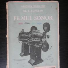 FILMUL SONOR - Dr.S.Bainglass - Carte Cinematografie