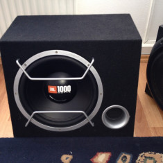 Amplificator JBL CS60.2 si Subwoofer JBL 1000W