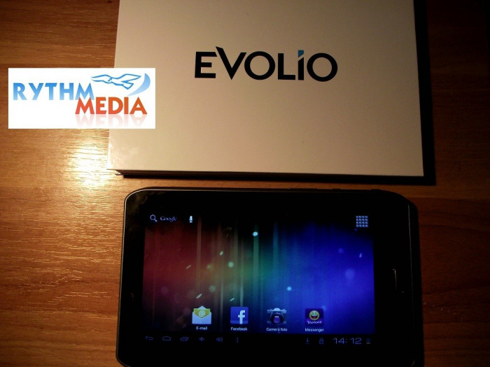 Tableta EVOLIO Evotab 3 - second hand - merge impecabil- inca 4 ani garantie foto mare