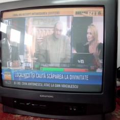 Televizor CRT Grundig - Aparat radio Grundig, Analog