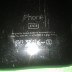 iPhone 3Gs Apple 32 gb, Negru, Neblocat