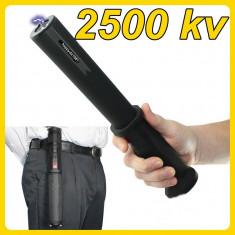 Electrosoc lanterna husa baston