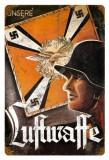 Poster din otel Propaganda Nazista WW II - LUFTWAFFE