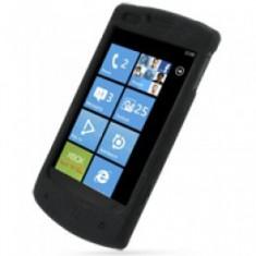 Husa protectie neagra silicon LG Optimus 7 E900 + expediere gratuita - Husa Telefon
