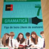 Limba romana  clasa a VII-a - culegere gramatica, Clasa 7, Paralela 45