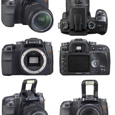 DSLR Sony Alpha A100, 10 Mpx, HD