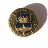 INSIGNA RUSIA URSS CCCP STEMA REGIUNE / ORAS NR. 16 - 22 mm **