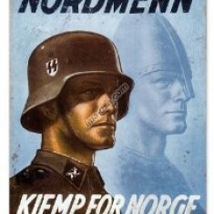 157.Reproducere Propaganda WW II - NORDMENN