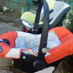 2 scaune copii auto o-13kg si 0 -19kg chicco si primii pasi - Scaun auto copii Chicco, 0+ (0-13 kg), In sensul directiei de mers, Isofix