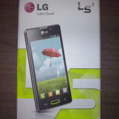 LG OPTIMUS L5 II - Telefon mobil LG Optimus L5 II, Negru, Neblocat, Single SIM
