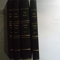 George Tocilescu Curs de procedura civila Iasi 1887 - 1895 4 volume