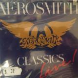 AEROSMITH - CLASSICS LIVE 1 (1991/SONY REC) - CD NOU/SIGILAT - gen:ROCK