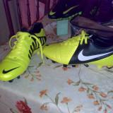 Ghete Nike - Ghete fotbal Nike, Marime: 43, Galben, Barbati
