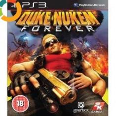 PE STOC Duke Nukem Forever PS3 ca nou (transport inclus la plata in avans) - Jocuri PS3 Take 2 Interactive, Shooting, 18+, Multiplayer