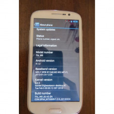 Thl Dual-Sim - Telefon mobil Dual SIM, Alb, 8GB, Neblocat, Quad core