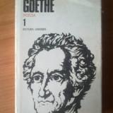 N Goethe - Poezia 1 - Roman, Anul publicarii: 1984