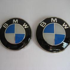 LOGO BMW CAPOTA 82mm SI PORTBAGAJ 74mm - Capace Roti