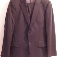 Costum barbatesc Venalba, maro, deosebit - Costum barbati, Marime: 46, 2 nasturi, Marime sacou: 46, Normal