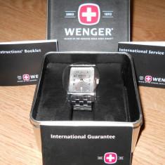 Ceas Wenger swiss military 7512x - Ceas barbatesc Wenger, Elegant, Analog