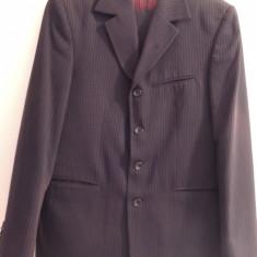 Costum Gherasos, stare buna - Costum barbati, Marime: 46, Culoare: Bleumarin, 3 nasturi, Marime sacou: 46, Normal