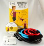 Everlast - set de 3 extensoare Pilates cu DVD pentru exercitii inclus - Nou, Extensor